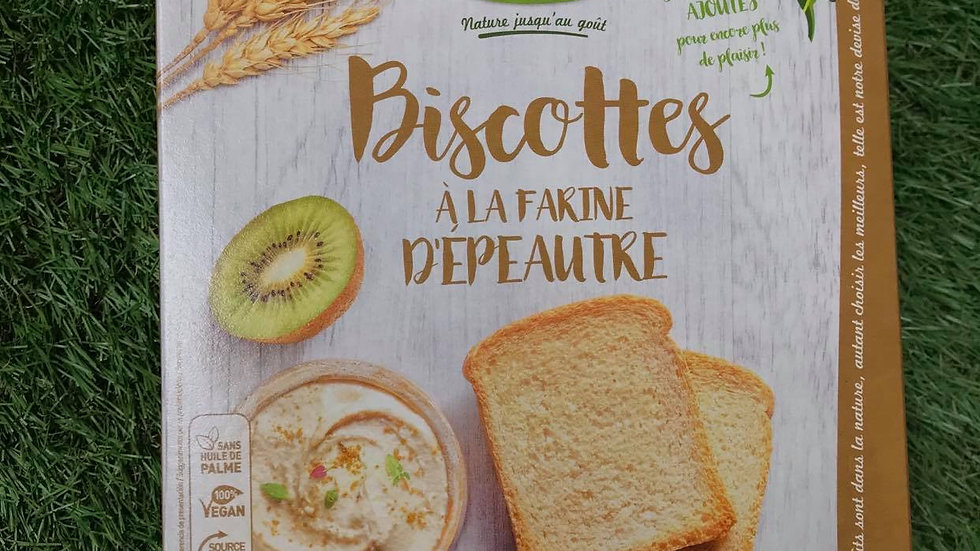 Biscottes Epeautre 270gr