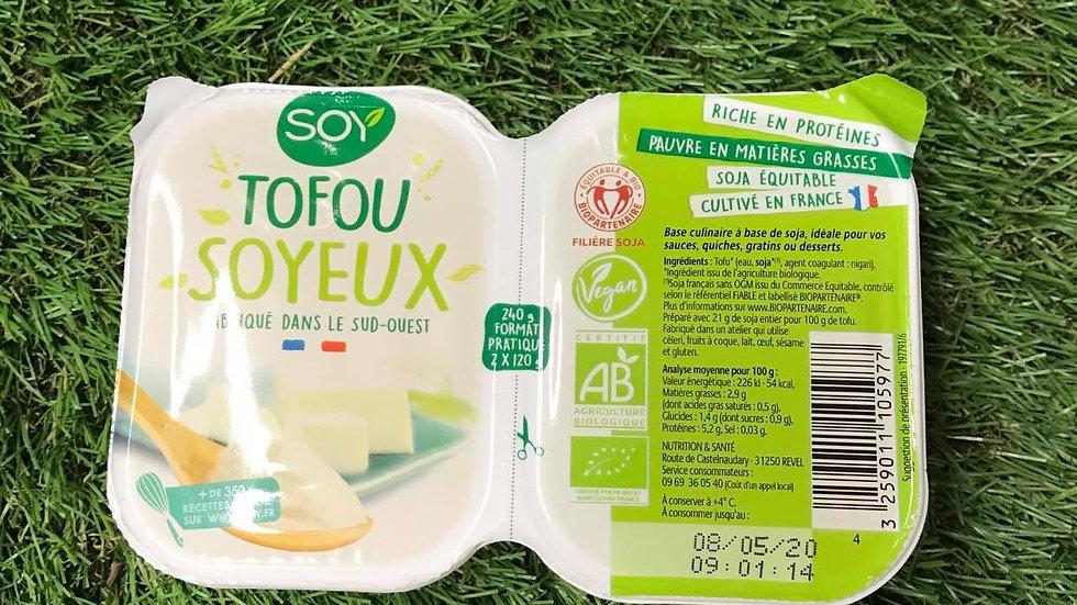 Tofou Soyeux 2 x 120gr