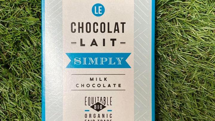 Chocolat Lait Simply Milk 80gr