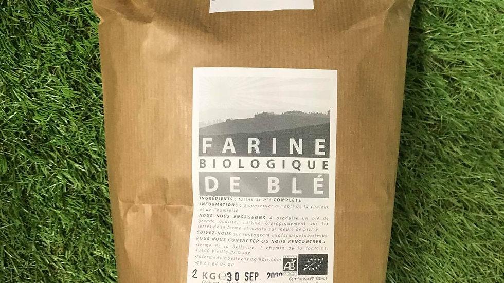Farine T110 2kg Ferme de Bellevue