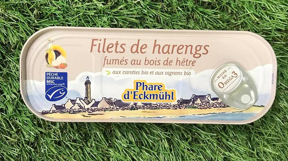 Filets de Harengs fumés 150gr