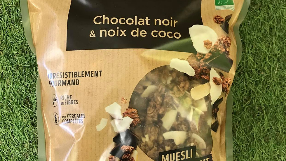 Muesli Chocolat Noir Noix de Coco