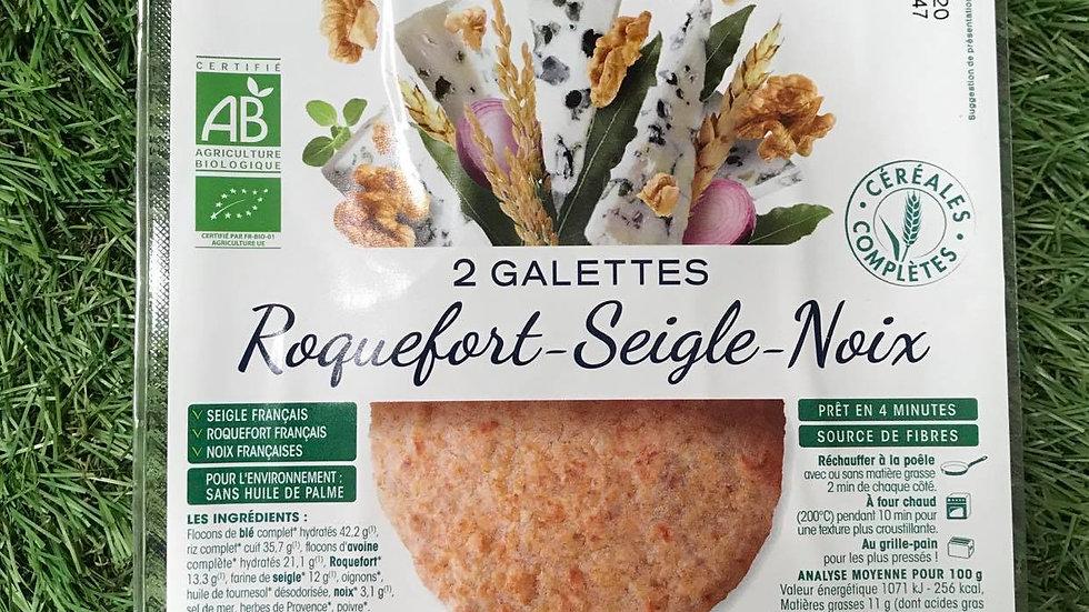 Galette Roquefort Seigle Noix