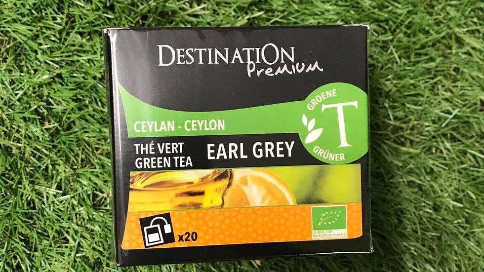 Thé Vert Earl Grey