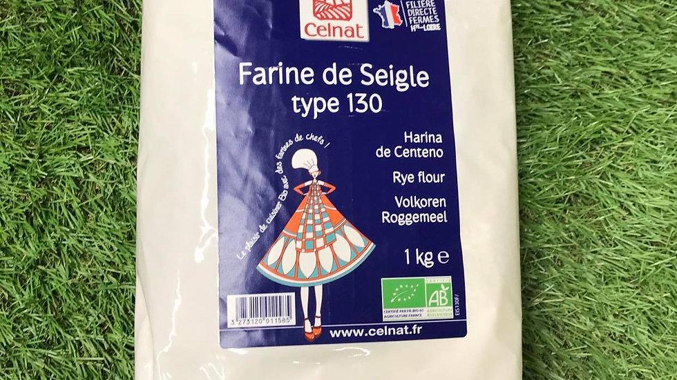Farine de Seigle T130 1kg
