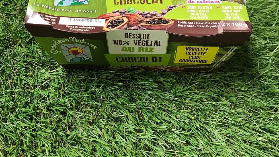 Dessert Riz Chocolat 2 x 100gr