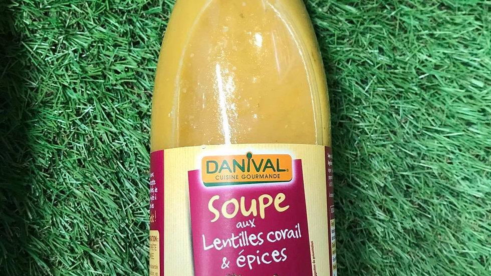 Soupe Lentilles Corail 720ml