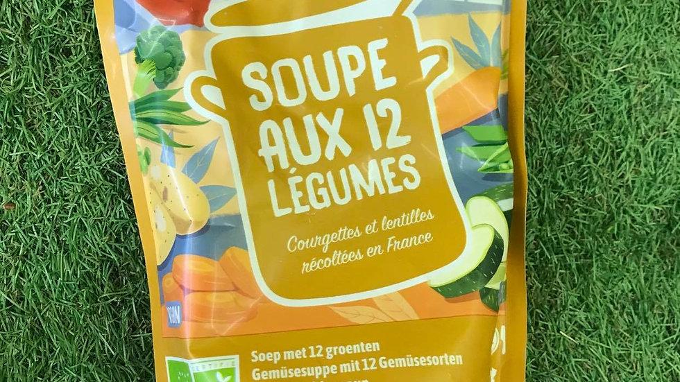 Soupes aux 12 Légumes
