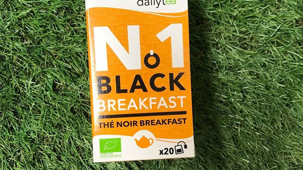 Thé Noir Breakfast 20 Infusettes
