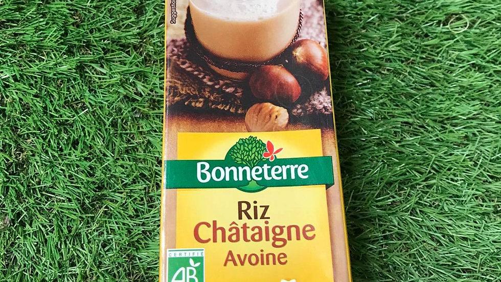 Boisson Végétale Riz Châtaigne Avoine 1L
