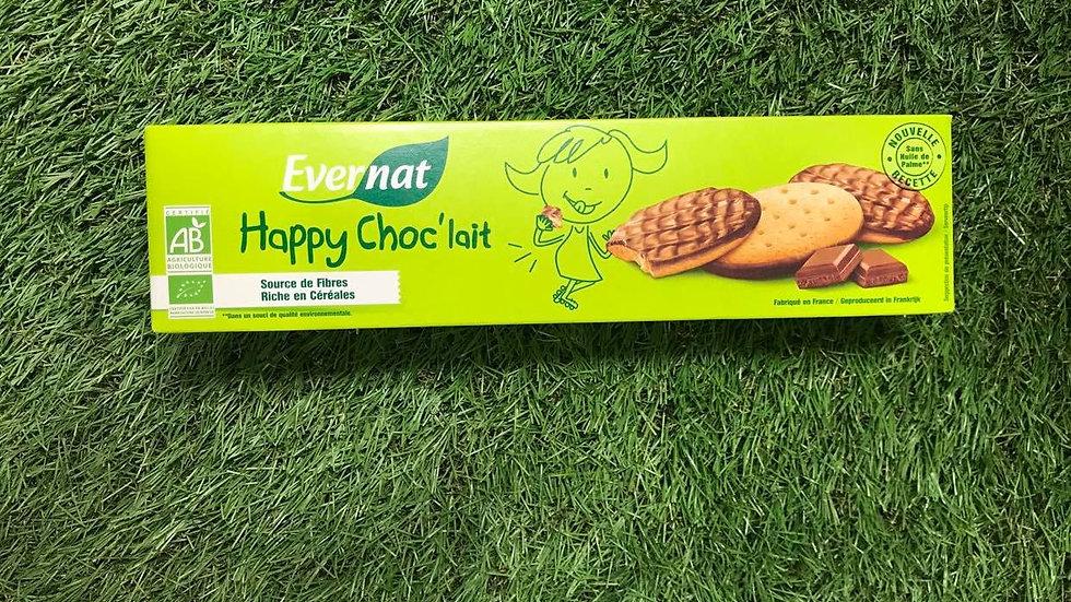 Biscuits Happy Choc Lait 200gr