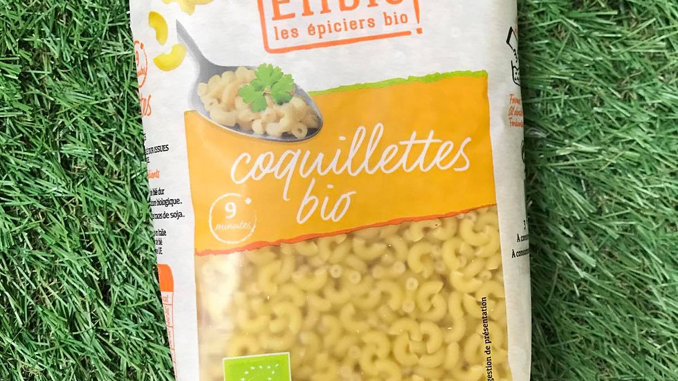 Pâtes Coquillettes Blanches 500gr
