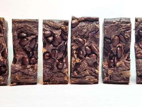 Vanilla Hazelnut Luxe Coffee Soap (10-Minute Hot Process Soap)