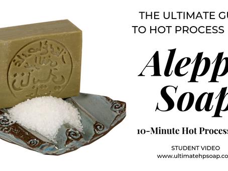 Aleppo Soap: Exploring Hot Process Soap History. Plus, 10-Minute Aleppo Soap Recipe Included!