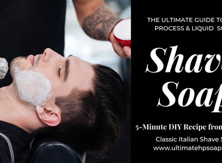 Super Easy 5-Minute DIY Shaving Soap: Martin de Candre Italian Soft Shave Soap