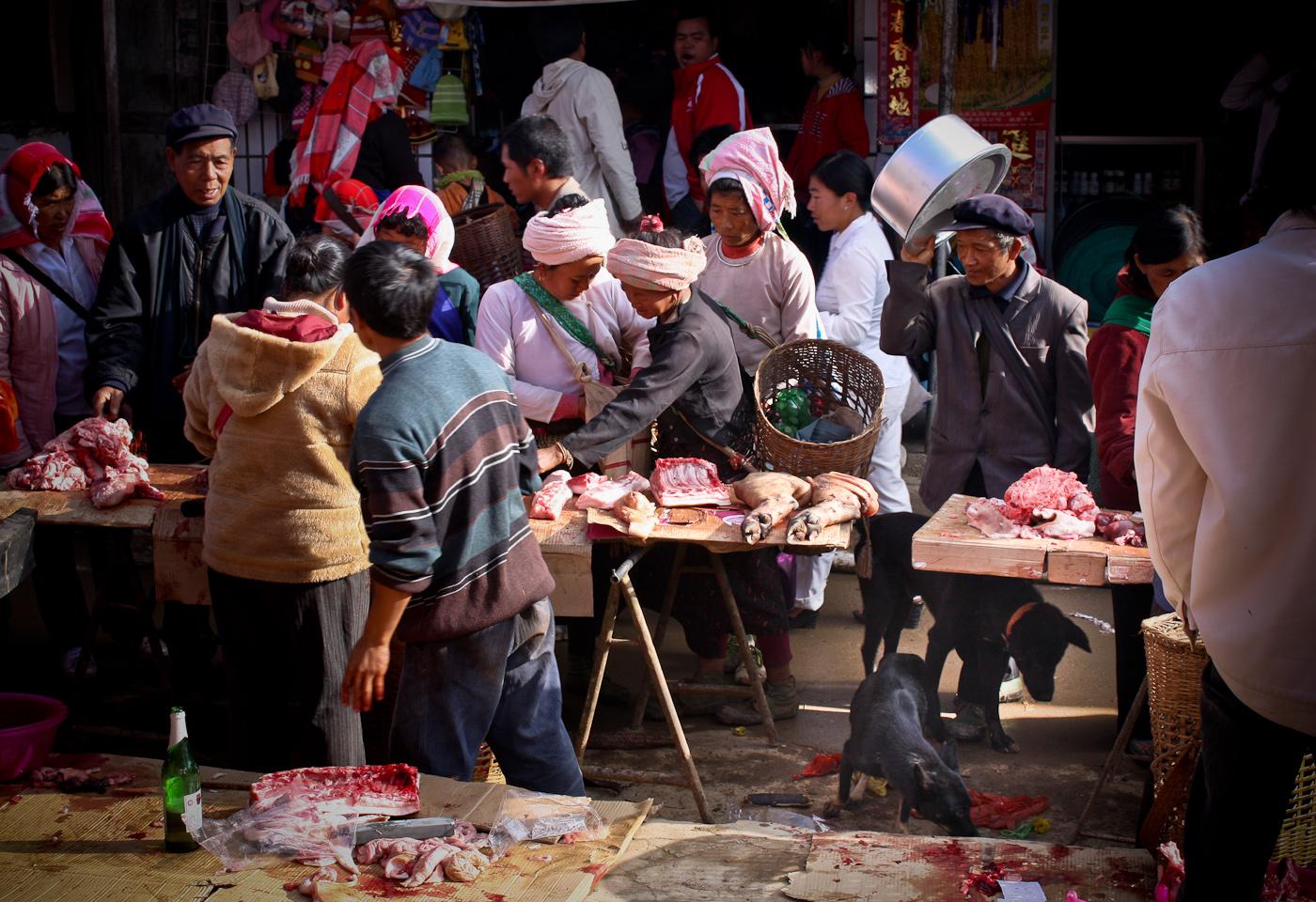 20081225 Jinghong Thursrday market XBN (54)