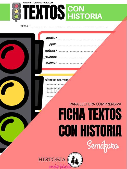 Ficha Semáforo - Textos con Historia