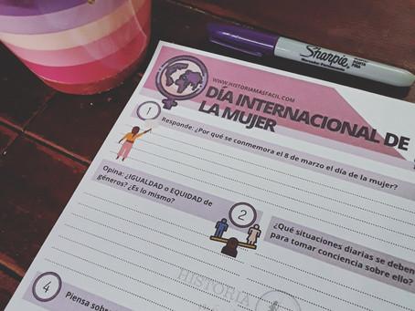 Ficha de trabajo: Día internacional de la mujer