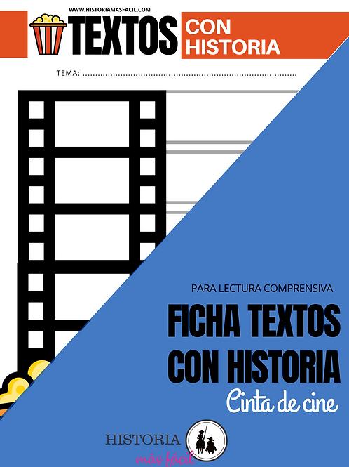 Ficha Cinta de cine - Textos con Historia