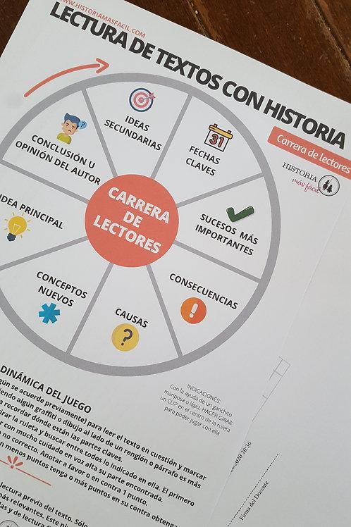Ficha Ruleta - Carrera de Lectores