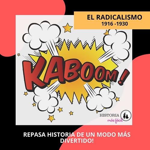 KABOOM! Radicalismo 1916 - 1930 - Incluye JUEGO INTERACTIVO DIGITAL