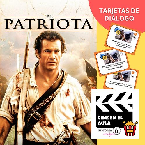 """Tarjetas de diálogo """"El Patriota"""" - Cine en el Aula"""