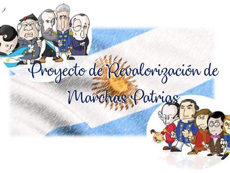 Proyecto de Revalorización de Marchas Patrias.
