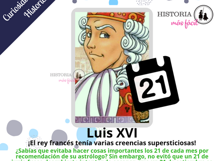 Luis XVI y sus creencias alocadas