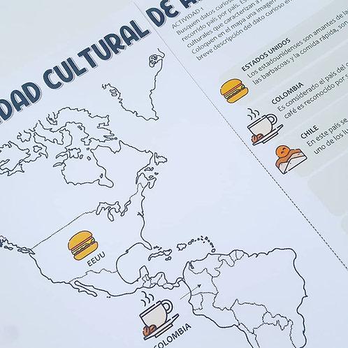 Diversidad cultural - Mapa de América