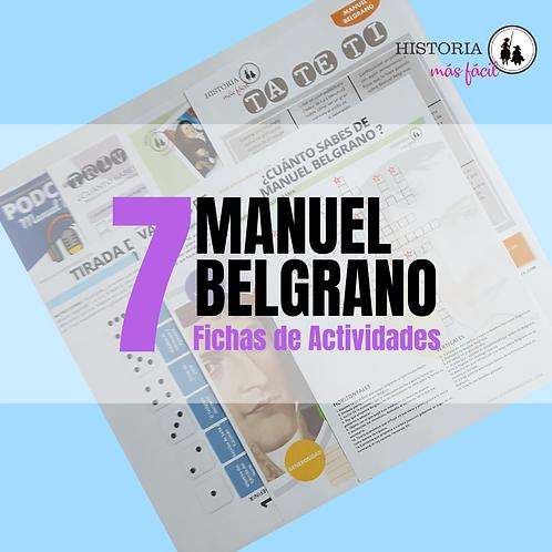 PACK DE FICHAS - MANUEL BELGRANO