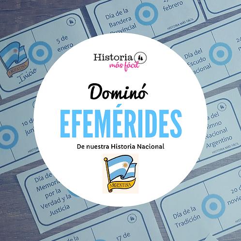 DOMINÓ - Efemérides