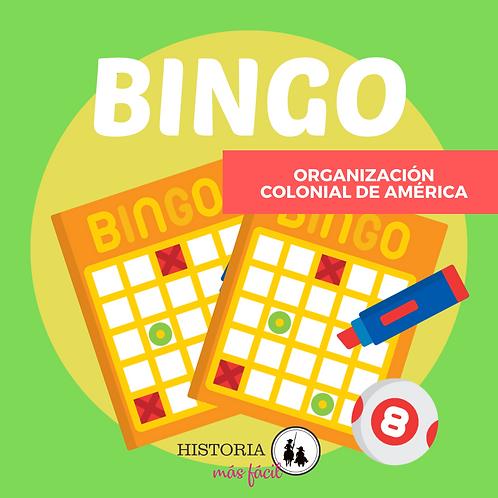 BINGO - Organización Colonial de América