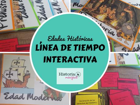Línea de Tiempo Interactiva: Edades Históricas