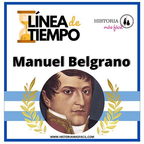 """""""Línea de tiempo"""" - Manuel Belgrano"""