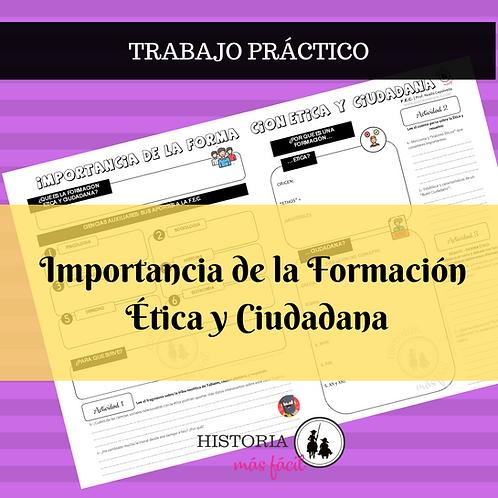 TRABAJO INTERACTIVO DE FORMACIÓN ÉTICA Y CIUDADANA