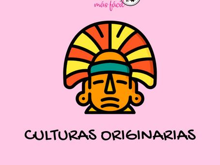 Culturas originarias: tablero de juego