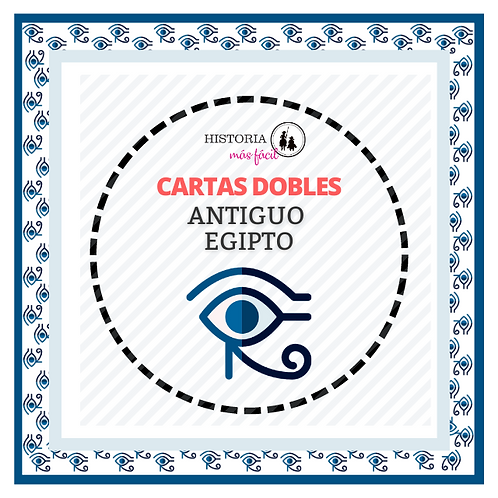 Cartas Dobles - Antiguo Egipto