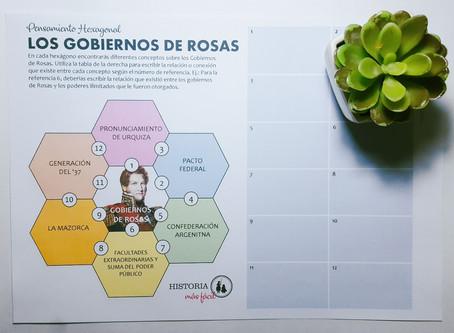 Pensamiento Hexagonal - Los gobiernos de Rosas
