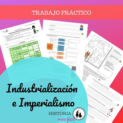 INDUSTRIALIZACIÓN E IMPERIALISMO -Trabajo Práctico Interactivo
