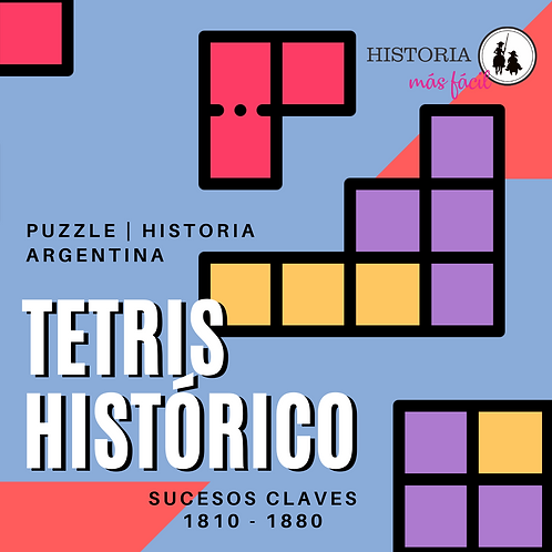 Tetris Histórico - Historia Argentina 1810-1880