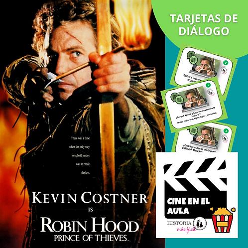 """Tarjetas de diálogo """"Robin Hood"""" - Cine en el Aula"""