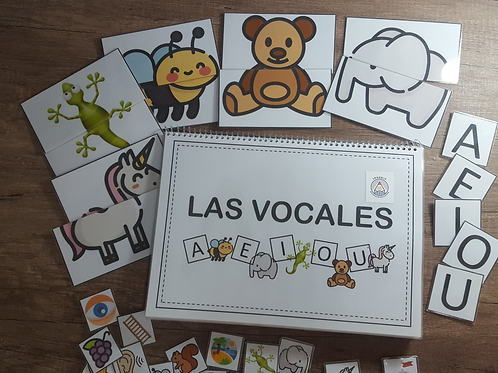 Book Las Vocales