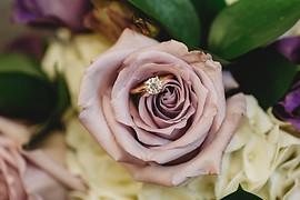 Ring/bouquet details