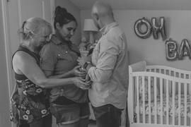 3 Generations/Lifestyle newborn shoot