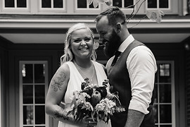 Candid Laugh- Bride and Groom