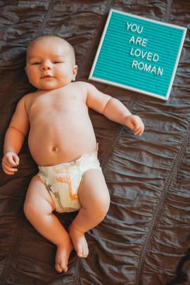 In home Newborn Shoot