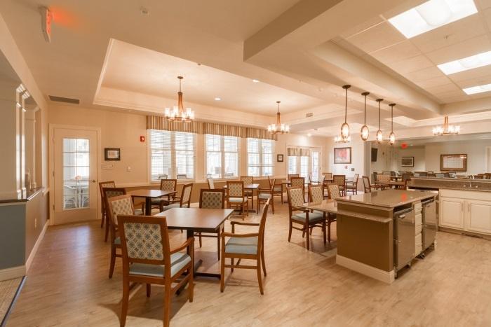 Arbor Dining Area