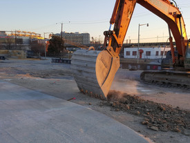 Check out our Silt Fence near Washington Nationals Park