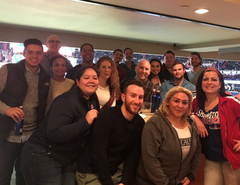 DFM Night Out at The Wizards Game