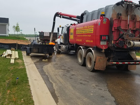 Our Jet Vac Trucks Save Water and Energy